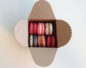 Winter Seasonal French Macarons