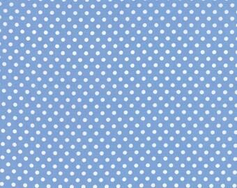 1/2 Yard Moda Dottie Small Dots Sky Blue