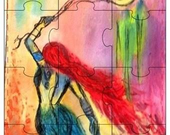 12-piece 5x7 ArtbyMaryReed Jigsaw Puzzles