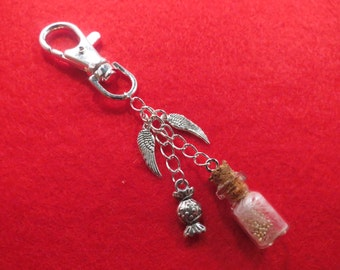 Supernatural Gabriel's grace bag charm