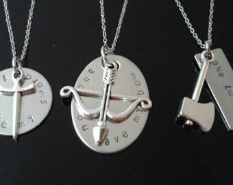 Fantasy Friendship necklace set,  Kings, Elves, Dwarves...
