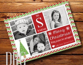 Photo Christmas Card (Digital File)