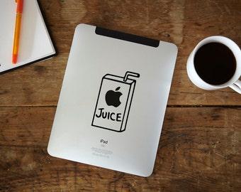 Apple Juice iPad Decal