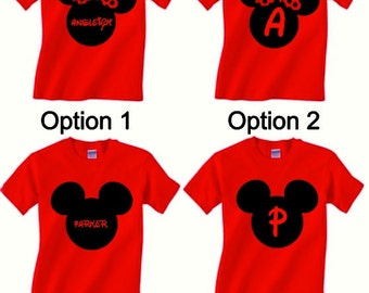 Disney Name Shirt