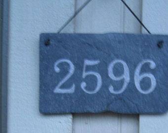 Natural Slate Address Plaque