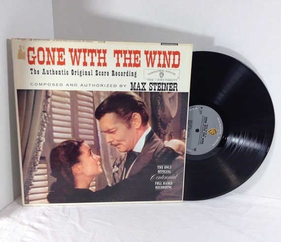Gone With The Wind Soundtrack 1961 Vinyl Record Vintage Lp
