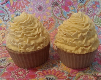 L'Occitane Honey Artisan Cold Process Soap Cupcakes