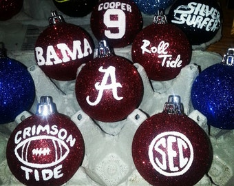3 University of Alabama Ornaments