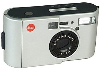 Vintage Leica C2 Mint 35mm Camera w/Leica Vario Elmar 35~70mm Lens with Plastic case and Leather Case
