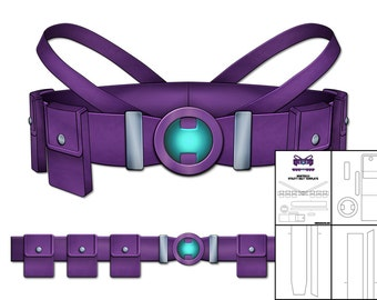 Template for The Huntress Utility Belt