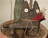 Primitive 1 Cat Claude  doll Valentine  everyday