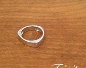 "Sterling Silver Ring - ""Trinity"""
