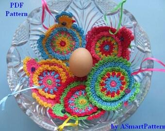 PDF Crochet pattern-Crochet Happy Easter Chicks by ASmartPattern-PDF file #16
