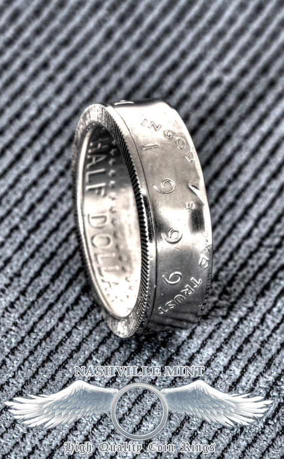 2000 Silver JFK Kennedy US Half Dollar Double Side Polished