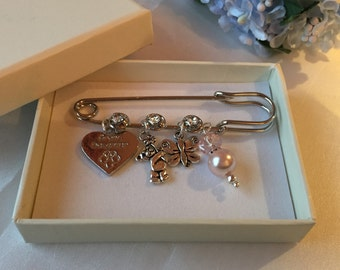 Baptism gift Grand Daughter Keepsake Pin Baptism jewelery, jewellery, christening gift