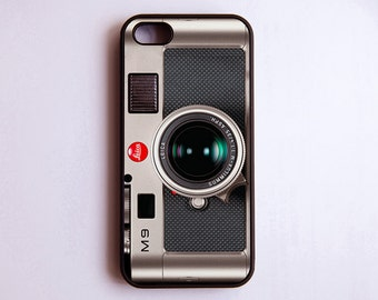 Vintage Camera iPhone Case 6-5S-5-5C-4S-4 Cover Firm Rubber