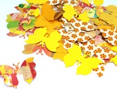 100 Butterfly Confetti / Customized Stars / Various Colours / Rustic Wedding, Table Décor