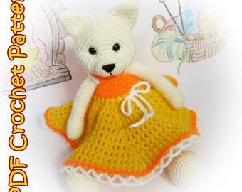 PDF Crochet Cat Pattern - Amigurumi PDF Pattern – Crochet Plush Toy - Stuffed Animal Tutorial