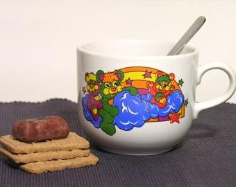 Please Mug-English Ceramic Kilncraft STL England-1980-Made in England-Kids Tableware-Vintage Chocolate Mug-Collectible
