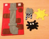 Incy wincy spider hand and puppet set