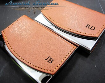 Personalized Business Card Holder, Leather Business Card Holder, Groomsmen Gift, Personalized Business Card Case,