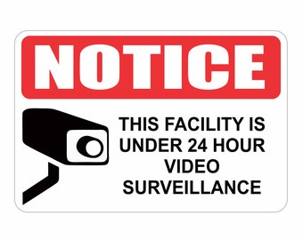 24 hour surveillance | Etsy