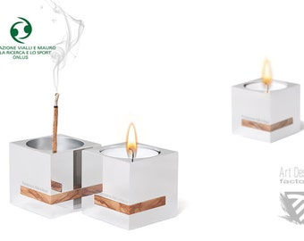 Flame Of Life - candle, incense Holder