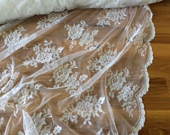 Lace Fabric - vintage