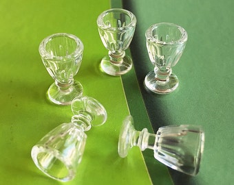 Miniature Wine Glass,Miniature Acrylic Wine Glass,Miniature Water Glass,Water Glass,Mini Wine Glass,Miniature Glass