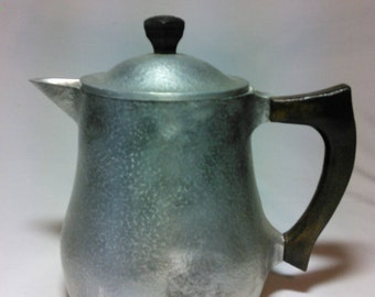 Vintage Hammercraft heavy aluminum pitcher