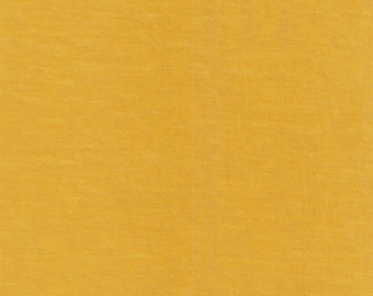 Mustard Yellow Solid Cotton Spandex Jersey Knit Fabric 5026