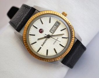 Vintage Rado Voyager Stainless Steel Automatic Mens Watch 233 -  Make me an offer!