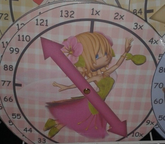 Educational learn your 11x table clock for 11x table