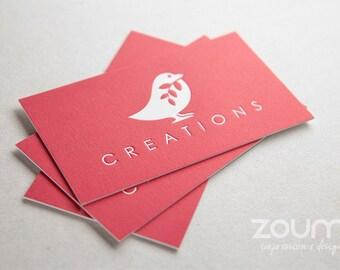 400 Letterpress Business Cards (full color)