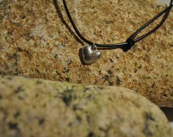Diddy Heart Pewter Pendant