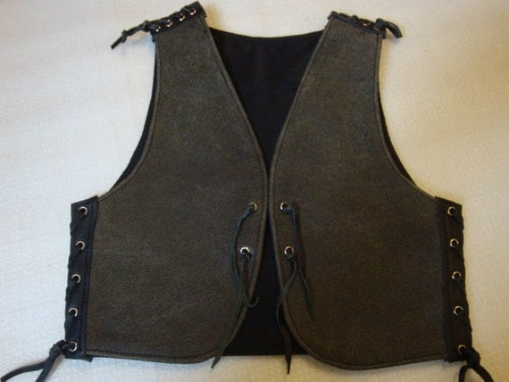 biker vest kutte for kids from 1 yearsleather. Black Bedroom Furniture Sets. Home Design Ideas