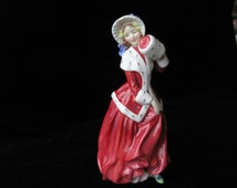 Popular Items For Figurines Christmas On Etsy