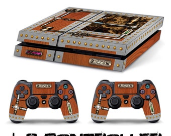 PS4 steampunk + 2 SKIN decal sticker controller sony playstation 4