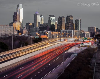 Rush Hour in Philadelphia - Philadelphia Photography - Fine Wall Art - Urban Cityscape