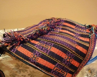 Vintage Handmade Purse From Holy Cow International/Made in Nepal/Tapestry Purse/Shoulder Bag