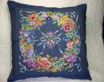 Flower Wreath Pillow