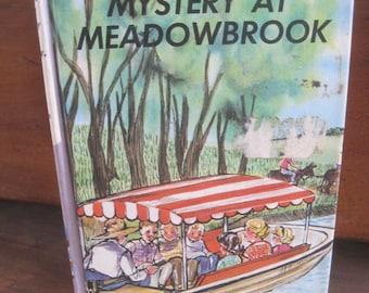 vintage bobsey twins mystery at meadowbrook vintage book 1963