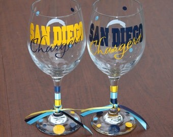 San Diego Chargers Glassware