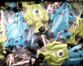 Monster Inc lollipops! Monster Inc birthday favors. Monster Inc party favors. Monster Inc.