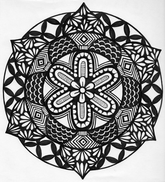 items similar to zentangle drawings tattoo designs on etsy. Black Bedroom Furniture Sets. Home Design Ideas