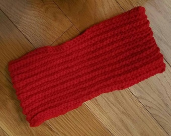 Swiffer Cover - Swiffer Pad - Crochet Swiffer Pad - Reusable mop cover - Red