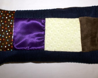Multi Sensory Pillow - 6 Fabrics - Promotes Tactile Engagement - by Grampa's Garden