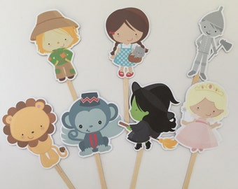 Adorable Wizard of Oz Cupcake Toppers