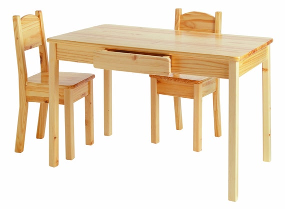Kids Arts and Crafts Table and Chair Set by EndeavourToys