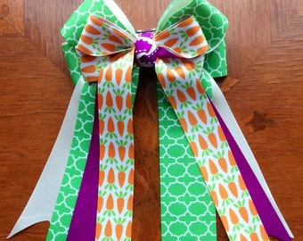 Horse Show Hair Bows,Beautiful Spring Easter Bows/hair accessory/Ready2Mail